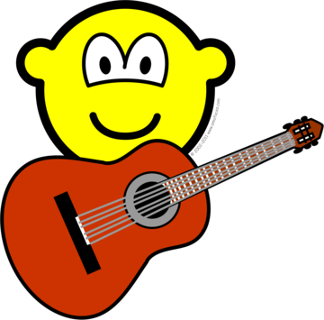 Acoustic guitar buddy icon