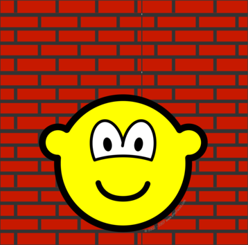 Against the wall buddy icon