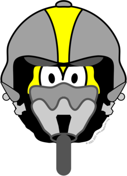 Air force pilot buddy icon