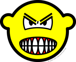Angry buddy icon