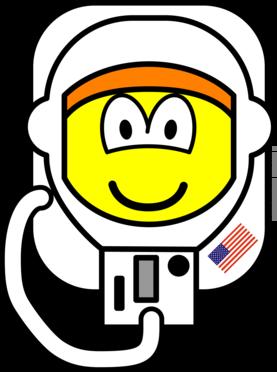 Astronaut buddy icon