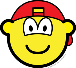 Backward cap buddy icon