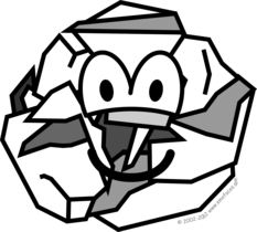 Ball of paper buddy icon