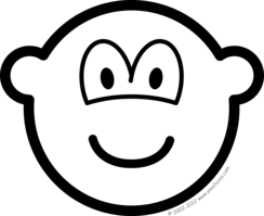 Black and white buddy icon