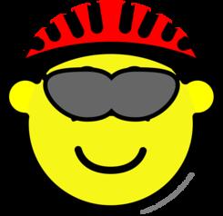 Biker buddy icon