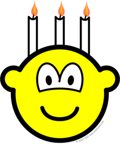 Birthday cake buddy icon