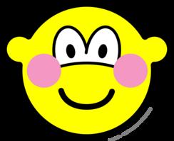 Blushing buddy icon