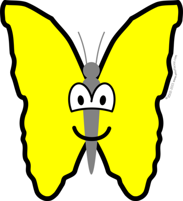 Butterfly buddy icon