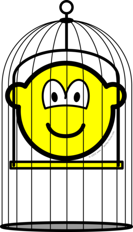Caged buddy icon