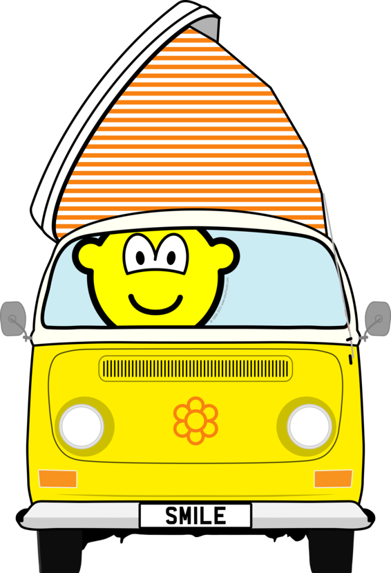 Campervan buddy icon
