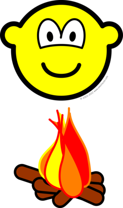 Campfire buddy icon
