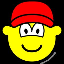 Baseball cap buddy icon