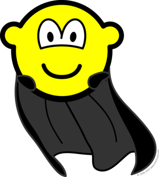Caped buddy icon