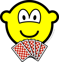 Card playing buddy icon
