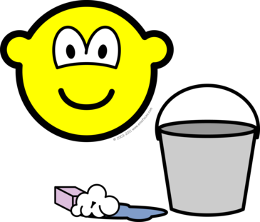 Cleaning buddy icon