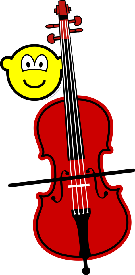 Contra bass playing buddy icon