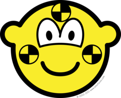 Crash test dummy buddy icon