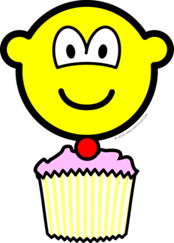Cup cake buddy icon