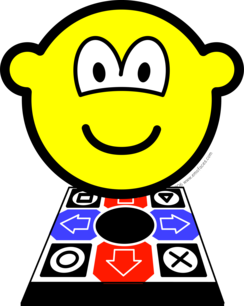 Dance dance revolution buddy icon