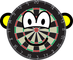 Dartboard buddy icon