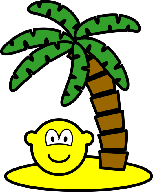 Desert island buddy icon