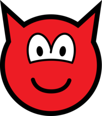 Devil buddy icon