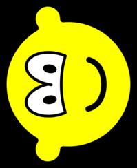 Fallen over buddy icon