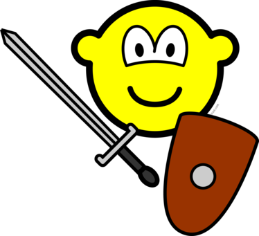 Sword fighting buddy icon