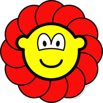 Flower buddy icon