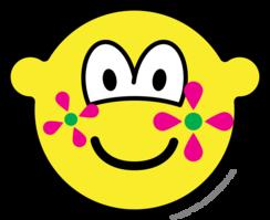 Flower power buddy icon