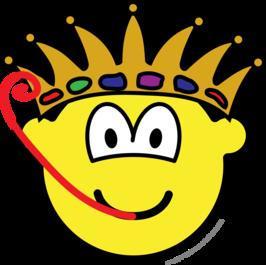 Frog king buddy icon