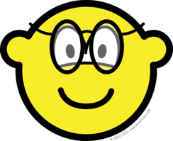Buddy icon with glasses