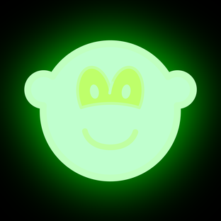 Glow in the dark buddy icon