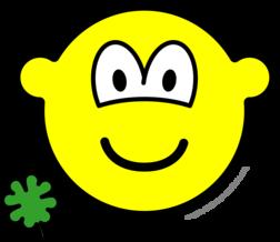 Good luck clover buddy icon