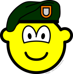 Green beret buddy icon