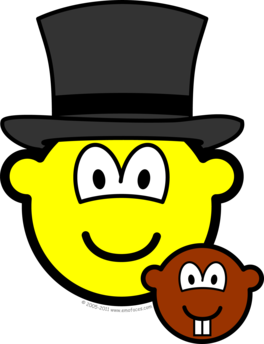 Groundhog day buddy icon