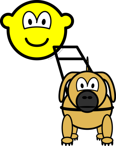 Guide dog buddy icon