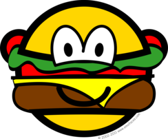 Hamburger buddy icon