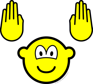 Handsup buddy icon