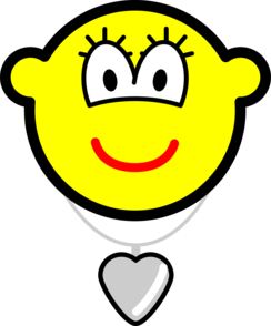 Heart shaped locket buddy icon