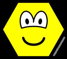 Hexagon buddy icon