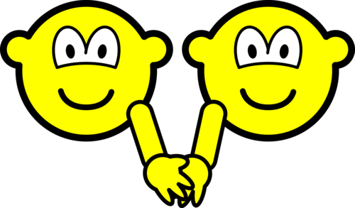 Holding hands buddy icons