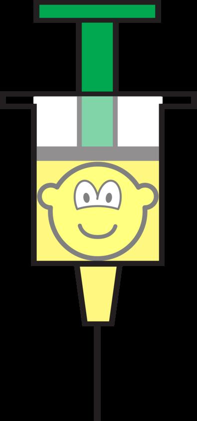 Injection needle buddy icon