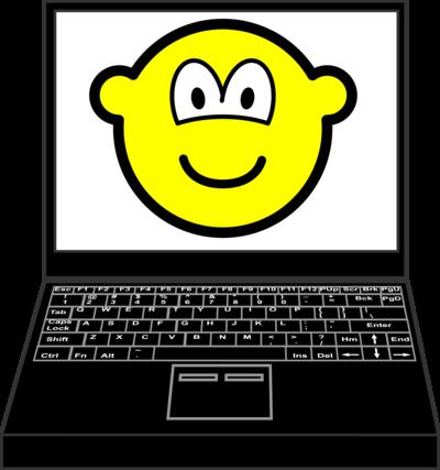 Laptop buddy icon