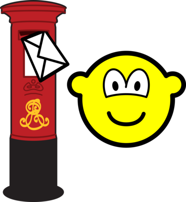 Letter posting buddy icon