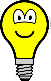 Lightbulb buddy icon