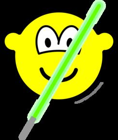 Light saber buddy icon