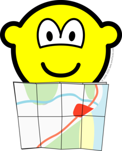 Map reading buddy icon