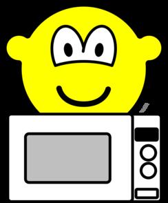 Microwaving buddy icon