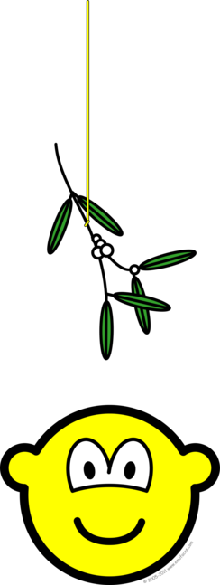 Mistletoe buddy icon